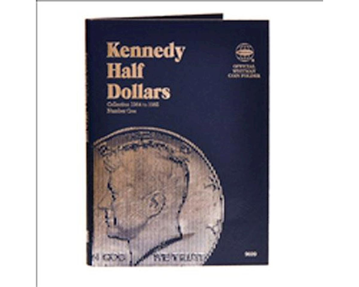 Kennedy Half Dollars 1964-1985 Coin Folder No.2 by Whitman Coins