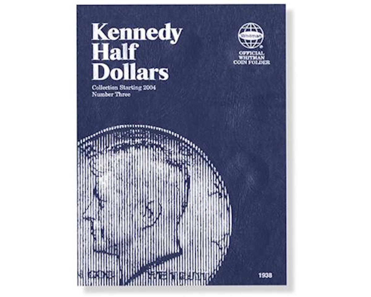 Kennedy Half Dollars Starting 2004 Coin Folder by Whitman Coins