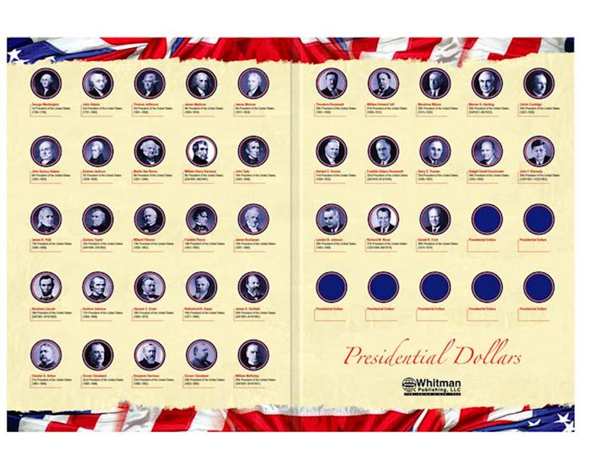 0794821723 Presidential Dollar Portfolio 2007-2016 by Whitman Coins