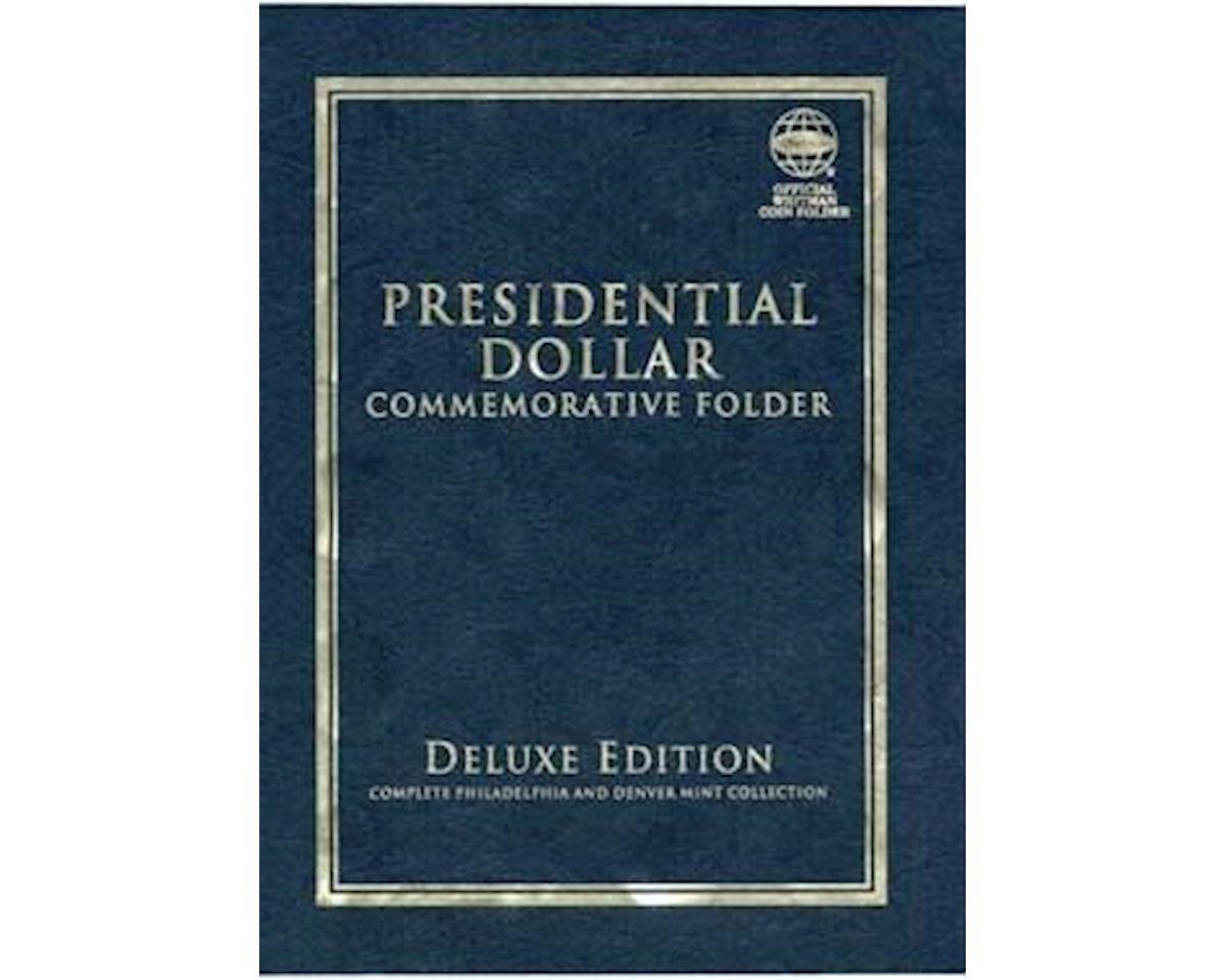 Presidential Commemorative, Dollar Folder P&D Mint by Whitman Coins