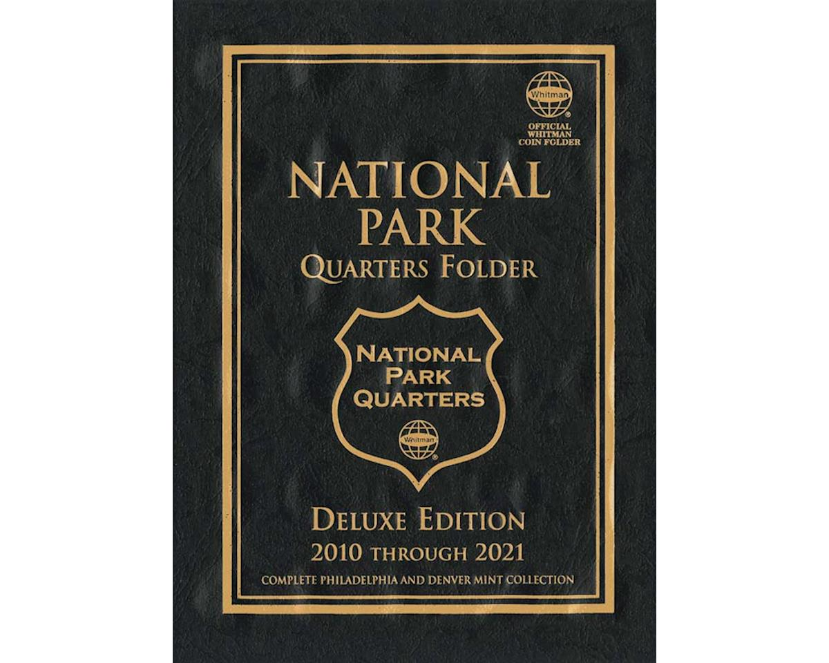 National Parks Quarter Folder 2010-2021P&D by Whitman Coins