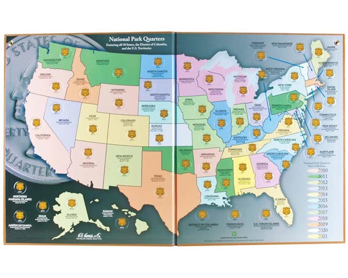 Nat Parks Qrtr Classic Map 2010-2021