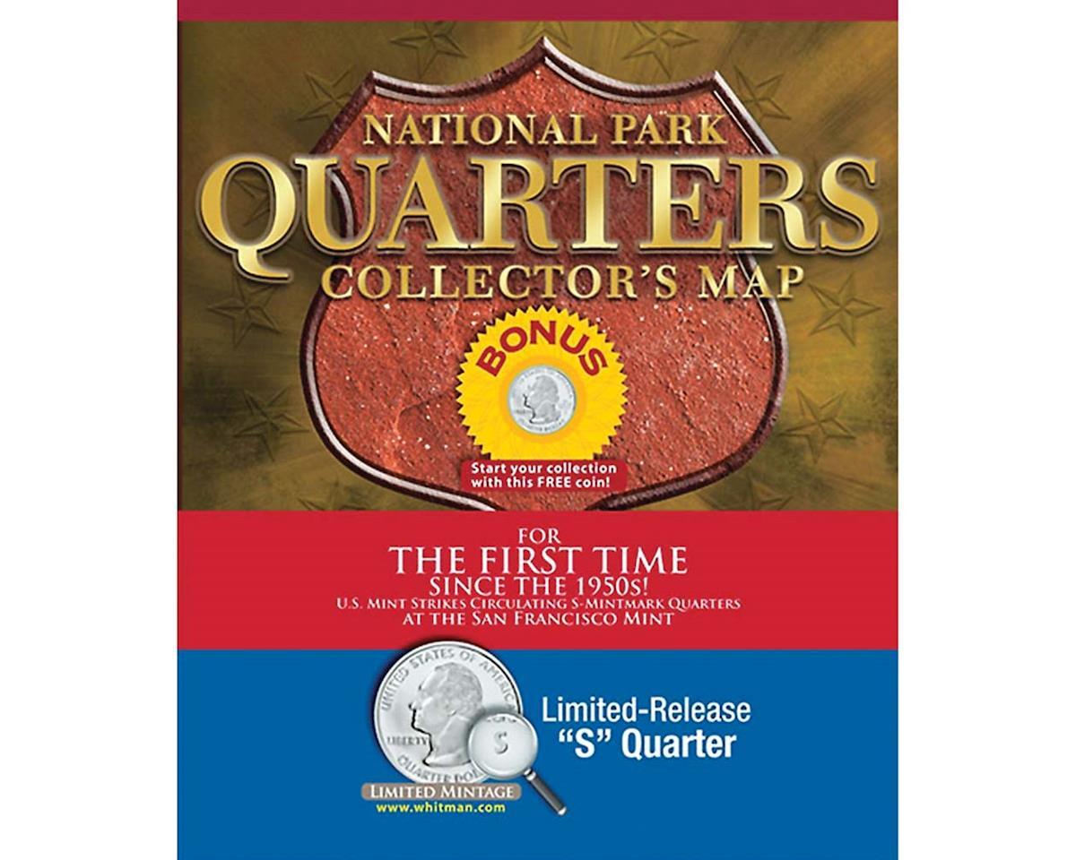 National Park Quarters Map Ltd  S  Quarters by Whitman Coins