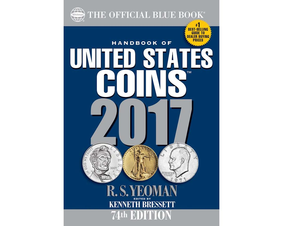 Whitman Coins 2017 Coin Blue Book [WHC079484393X]   Toys ...