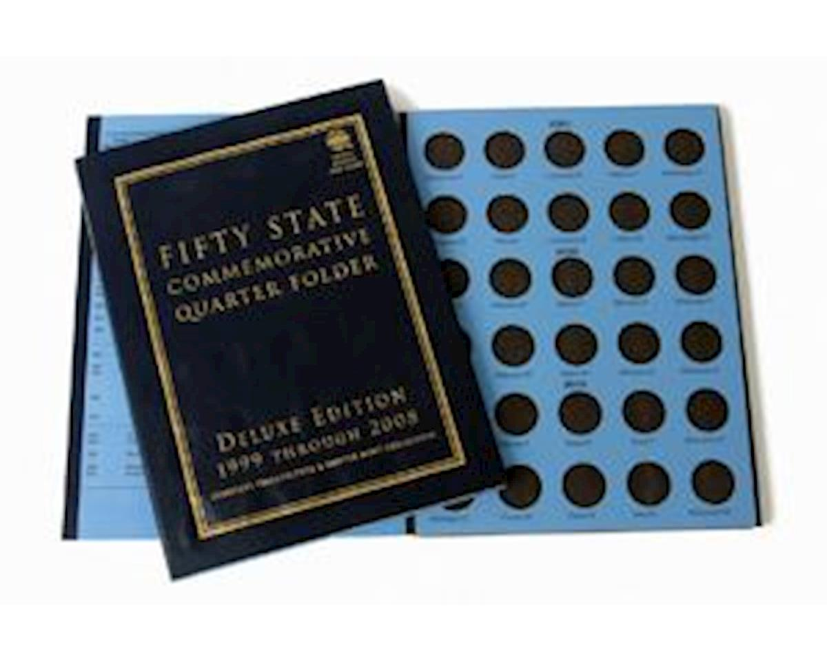 50 State Quarter Folder, Deluxe Edition by Whitman Coins