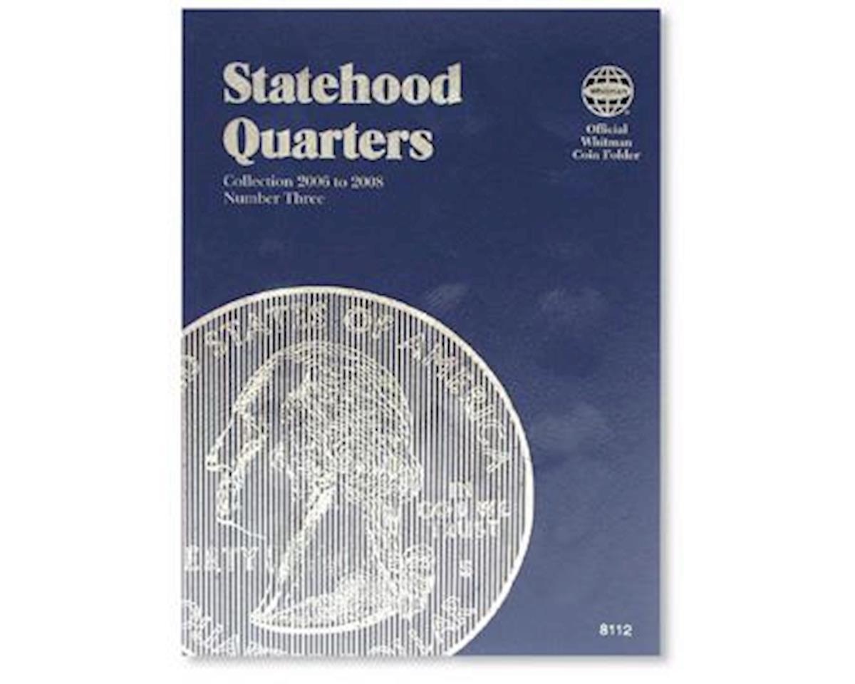 Statehood Quarters Vol.3 2006-2008 Coin Folder by Whitman Coins