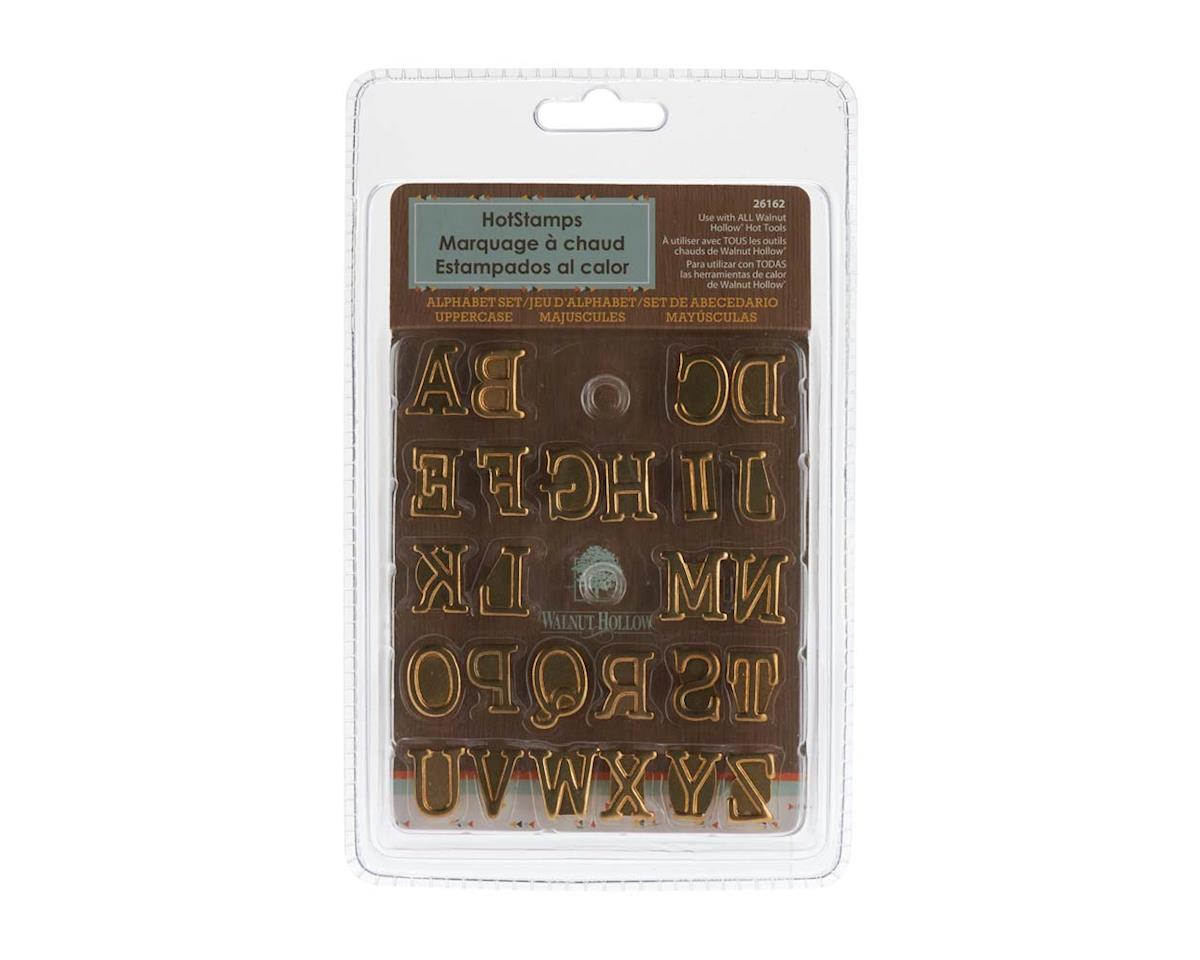Walnut Hollow Farms 26162 Hotstamps Alphabet Set Uppercase