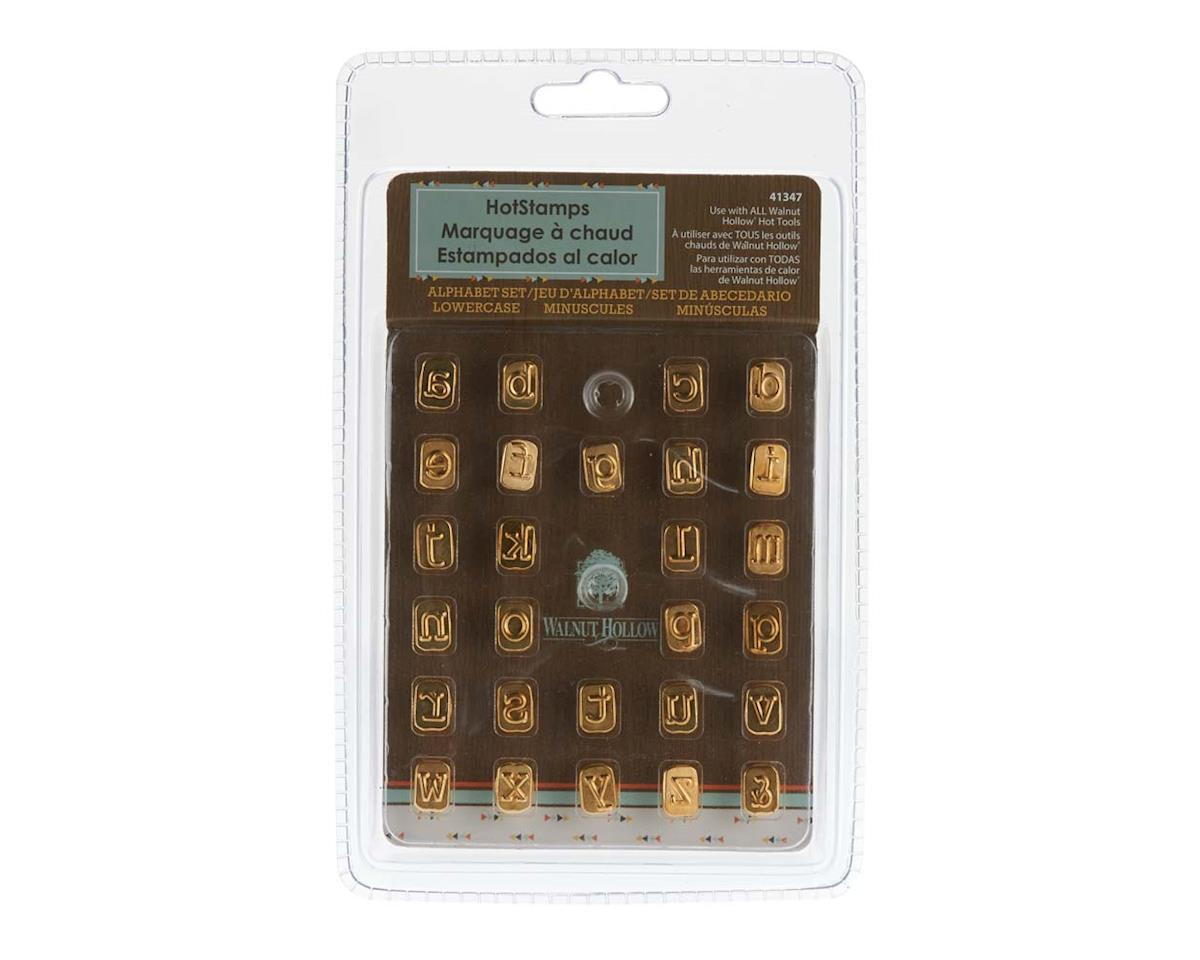 Walnut Hollow Farms 41347 Mini Hotstamps Alphabet Set Lowercase