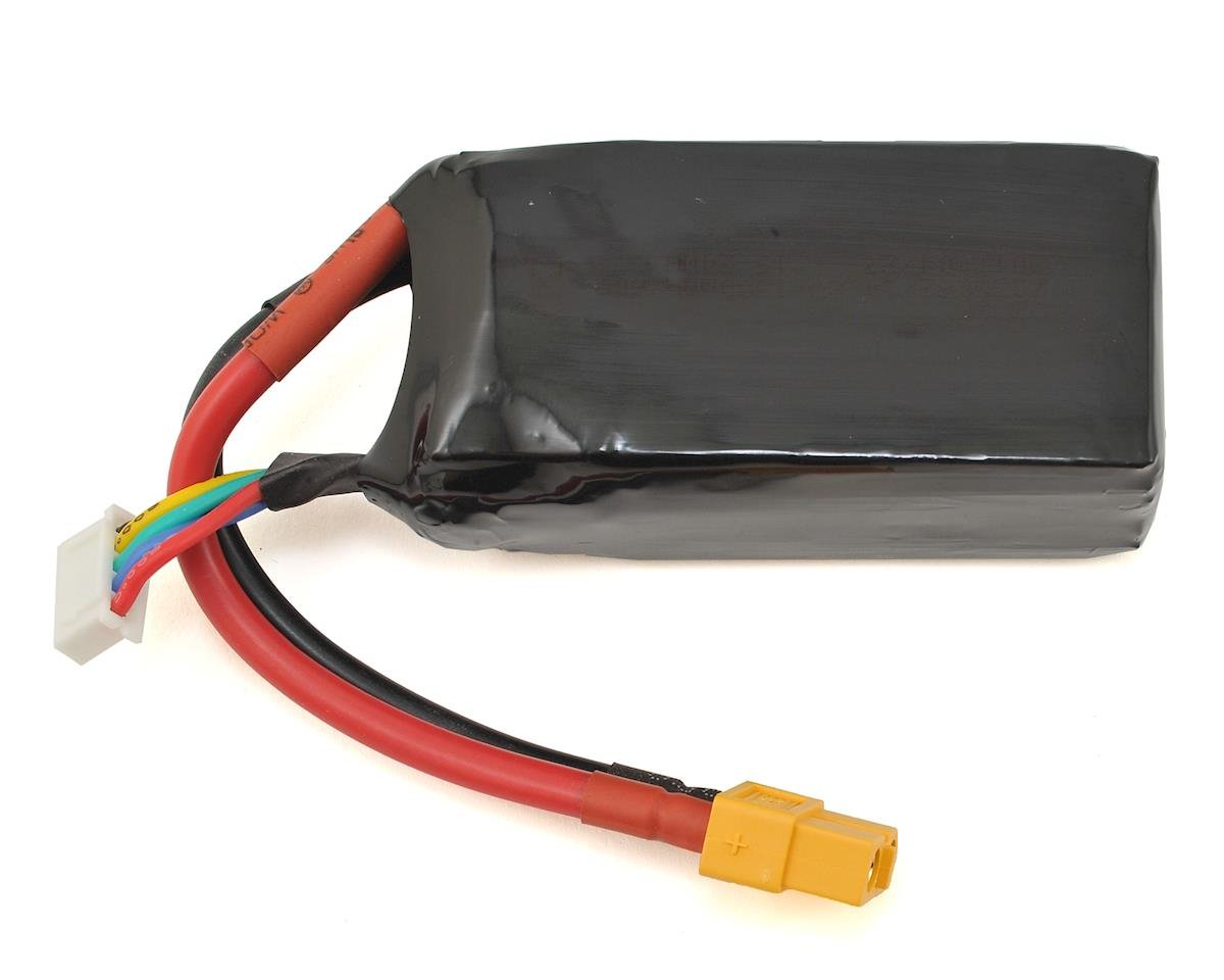 4S 60C LiPo Battery (14.8V/1300mAh) by Walkera