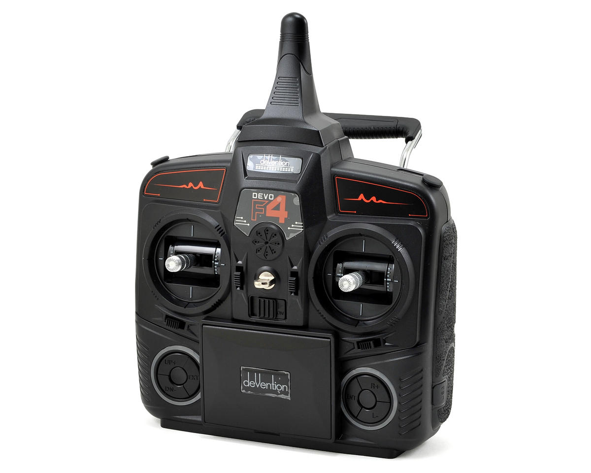 Walkera DEVO F4 2.4GHz 4-Channel FPV Radio System (Mode 2) (Transmitter Only)