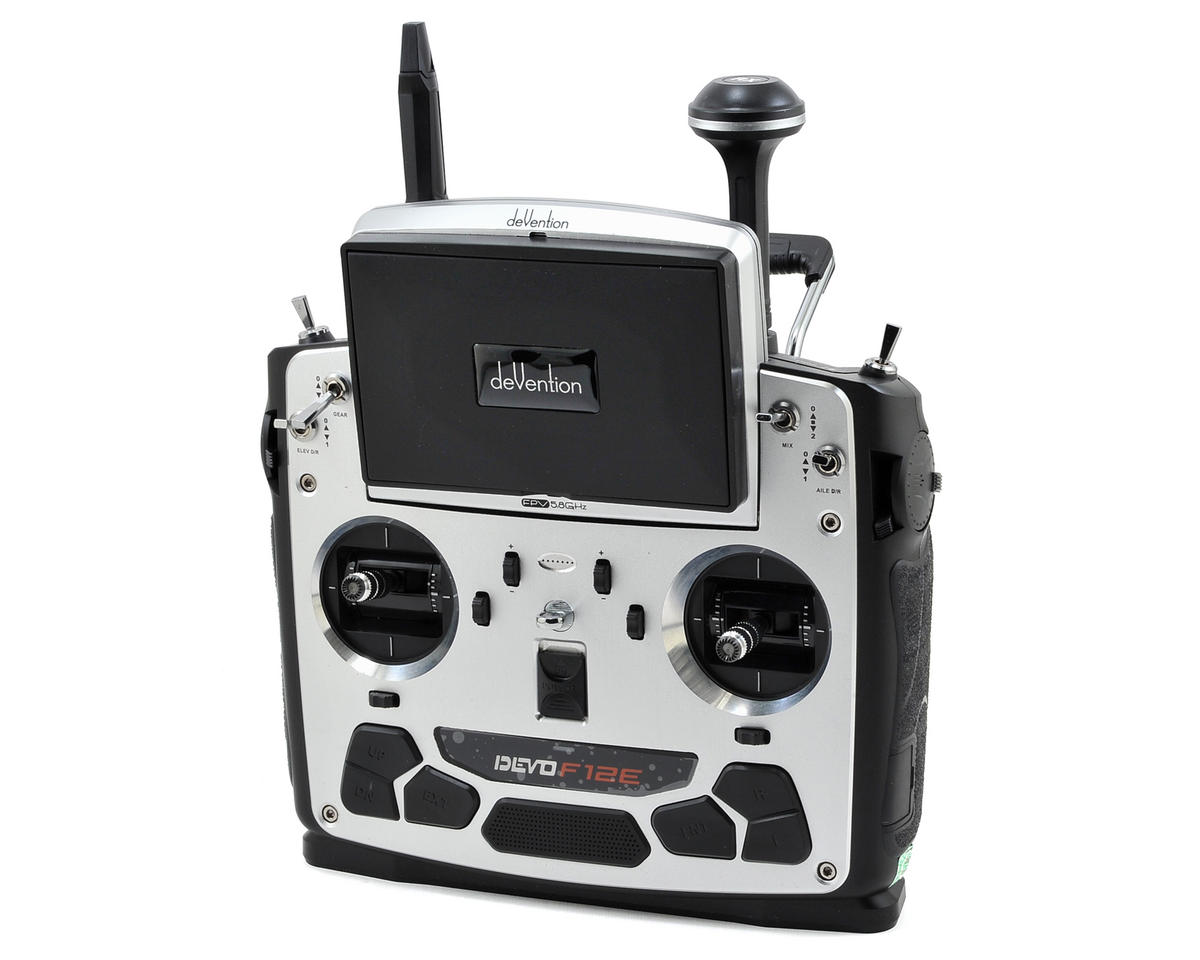 Walkera DEVO F12E 2.4GHz 12-Channel FPV Transmitter Combo