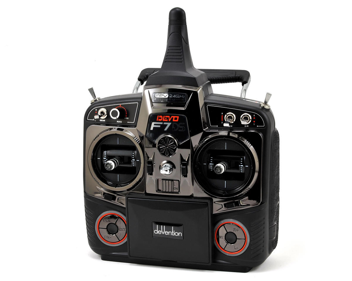 DEVO F7DS 2.4GHz 7-Channel FPV Radio System by Walkera