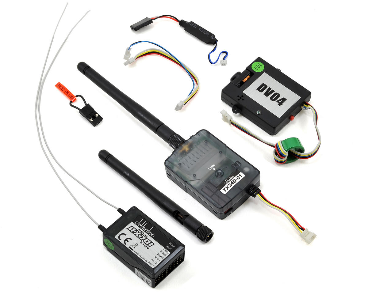 Walkera DEVO F7DS 2.4GHz 7-Channel FPV Radio System
