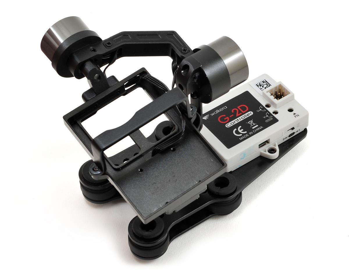 Walkera QR X350 G-2D 2-Axis Brushless Gimbal (iLook & GoPro Hero 3)