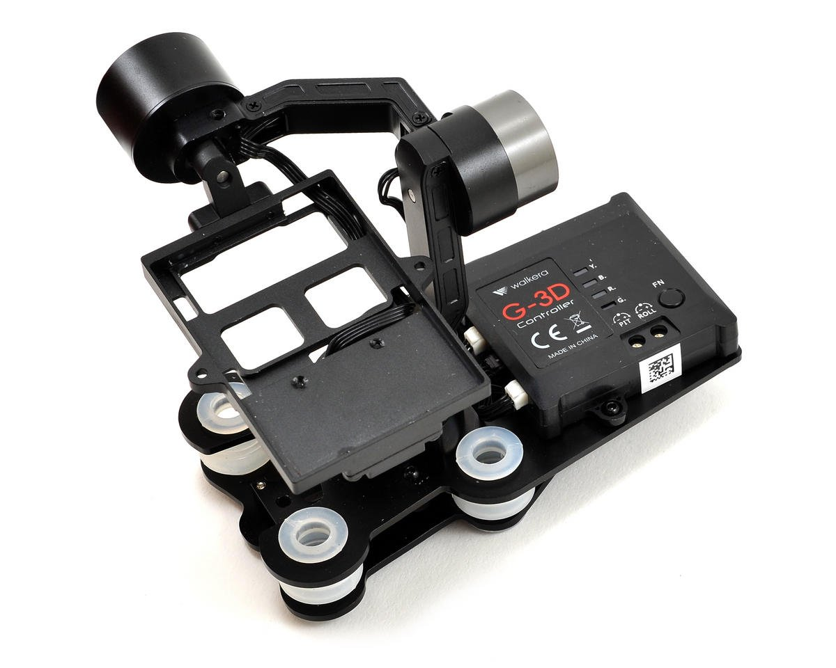 Walkera QR X350 G-3D 3-Axis Brushless Gimbal (iLook & GoPro Hero 3)
