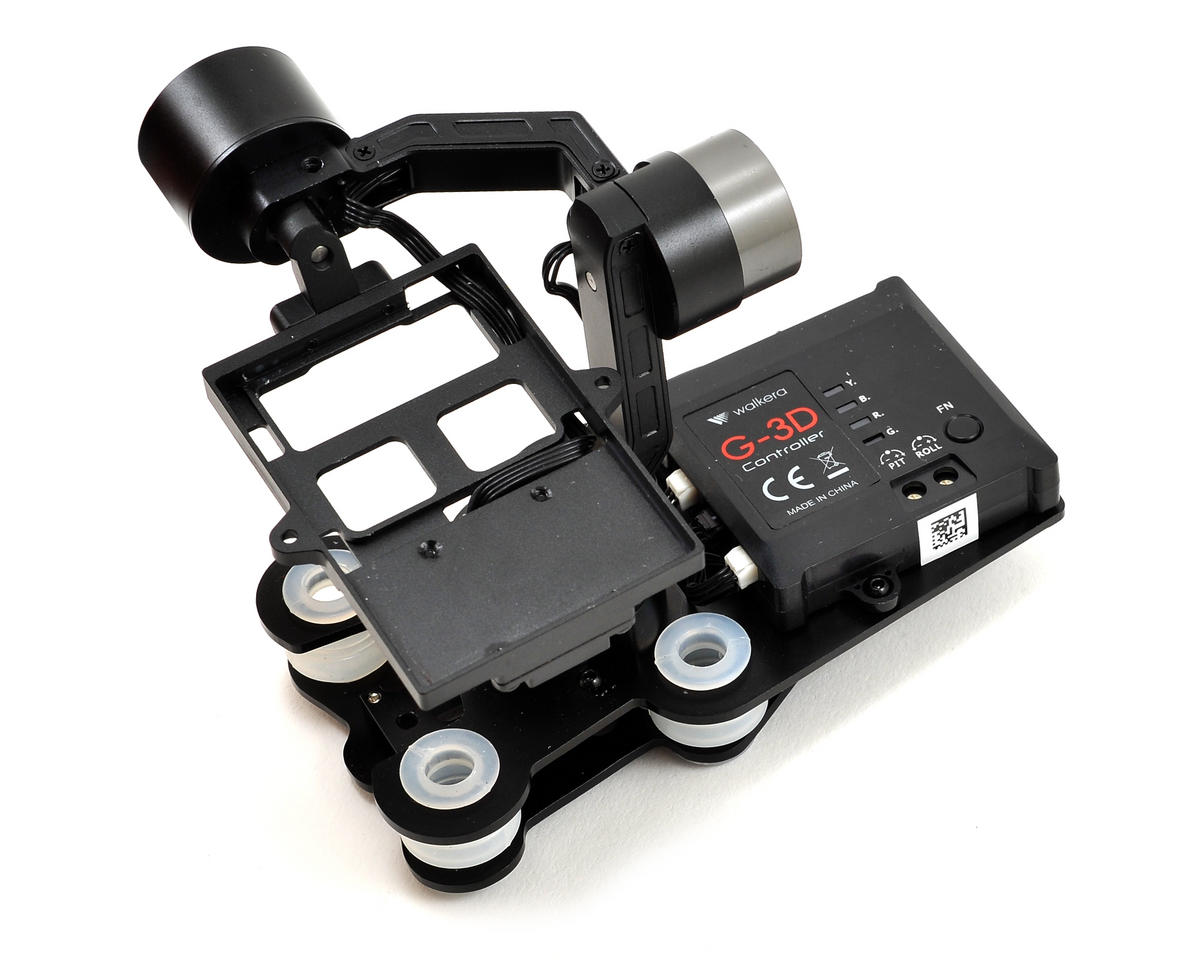 Walkera QR X800 G-3D 3-Axis Brushless Gimbal (iLook & GoPro Hero 3)