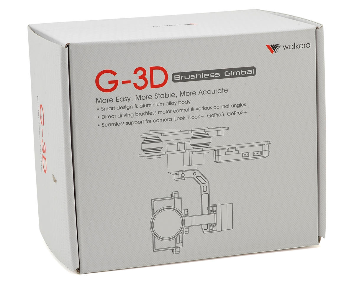 Walkera G-3D 3-Axis Brushless Gimbal (iLook & GoPro Hero 3)