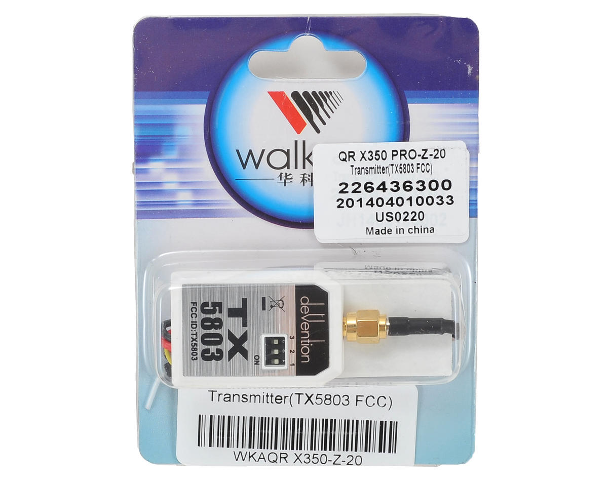 Walkera TX5803 5.8GHz Transmitter (FCC)