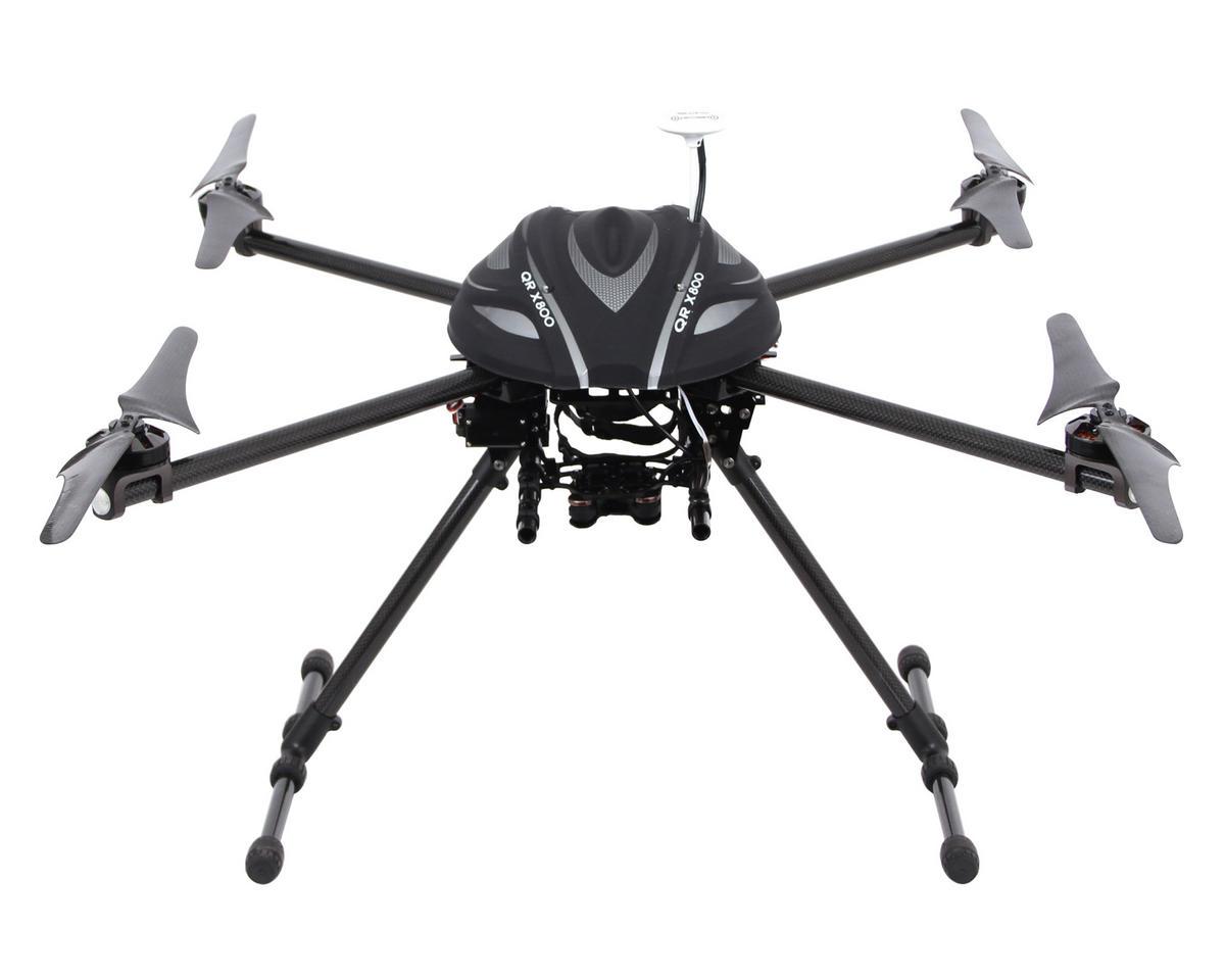 Walkera QR X800 ARF1 FPV Quadcopter System w/Aluminum Case