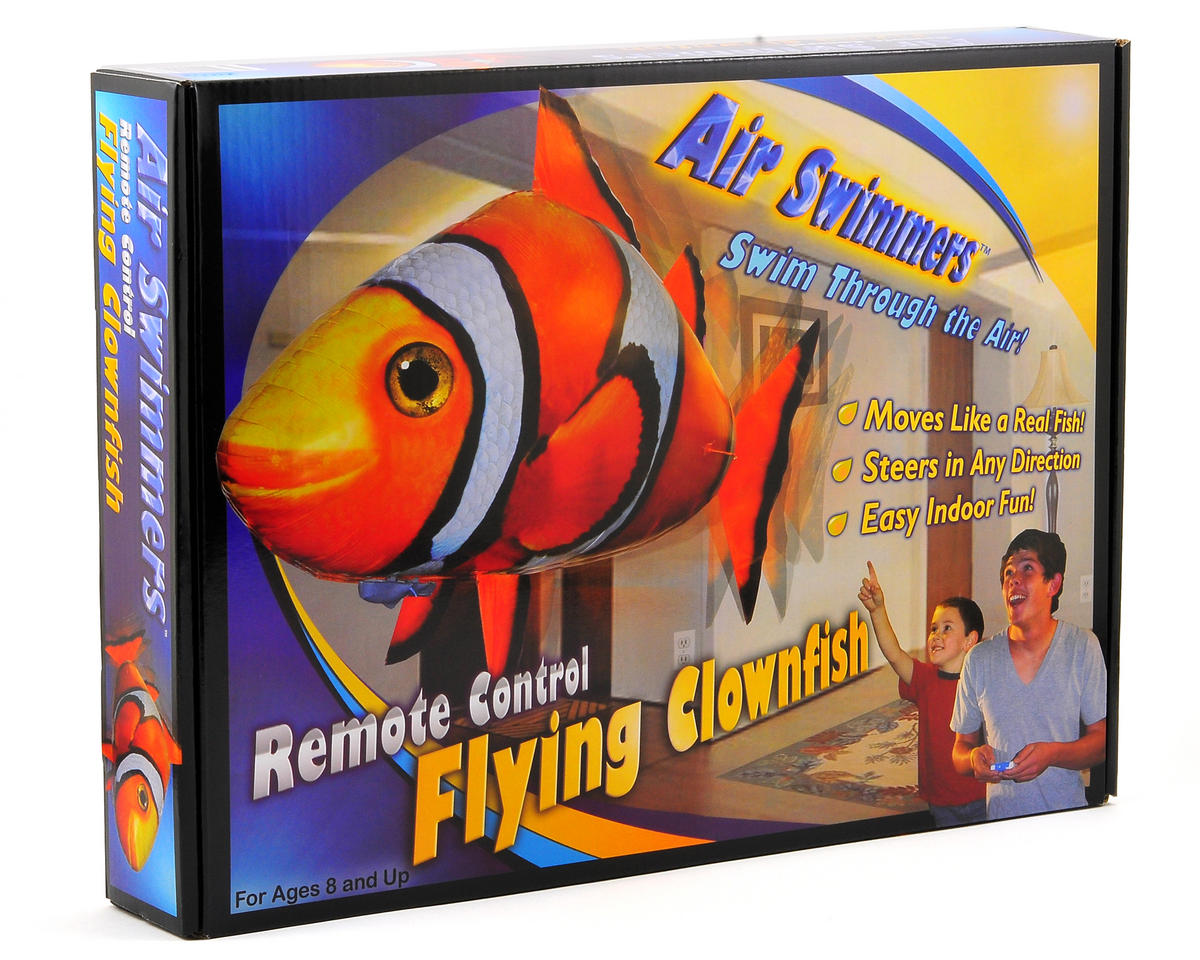 William Mark Air Swimmers Flying Clownfish