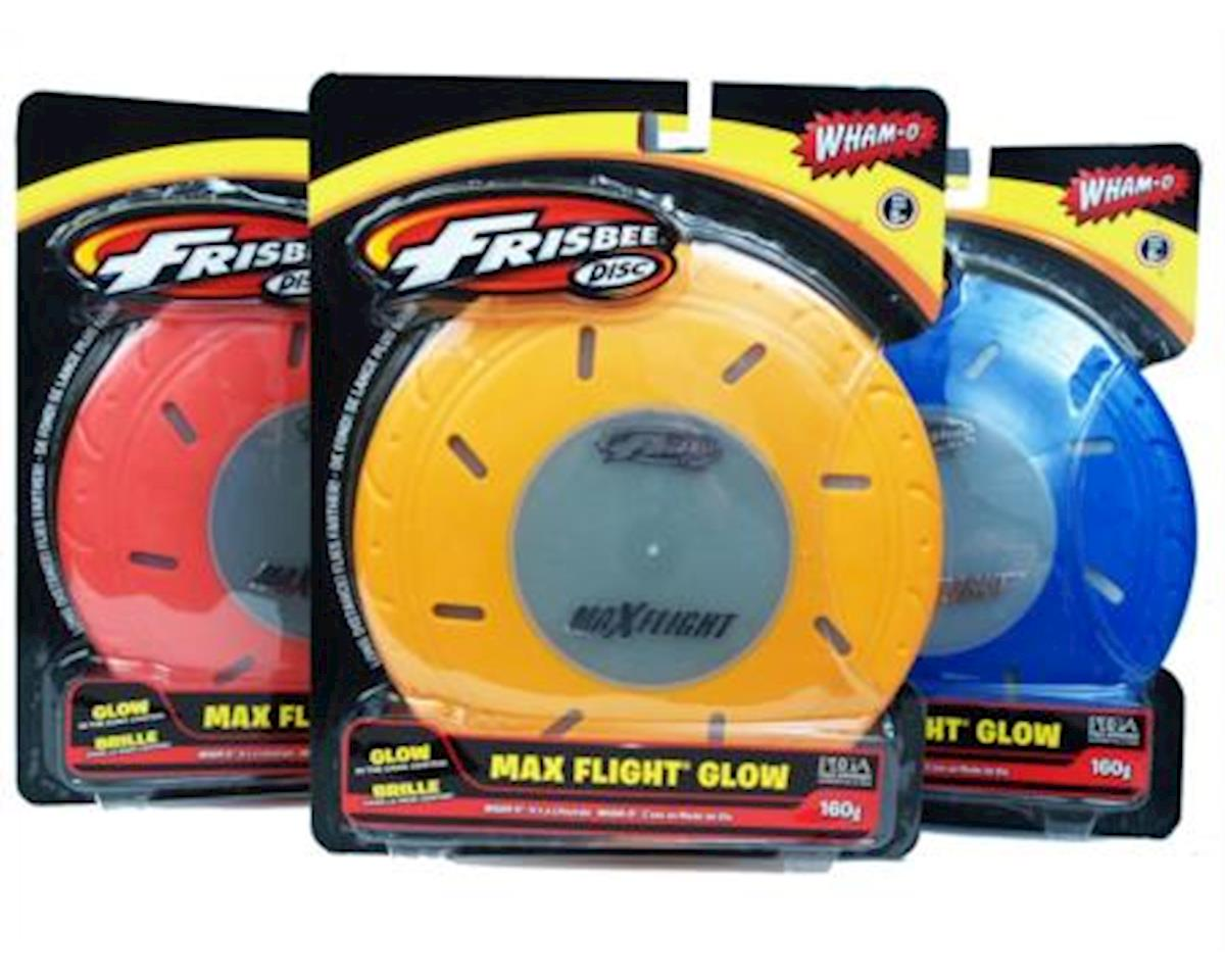 Wham-o 51105 Maxflight Glow in the Dark Frisbee (colors and graphics vary)