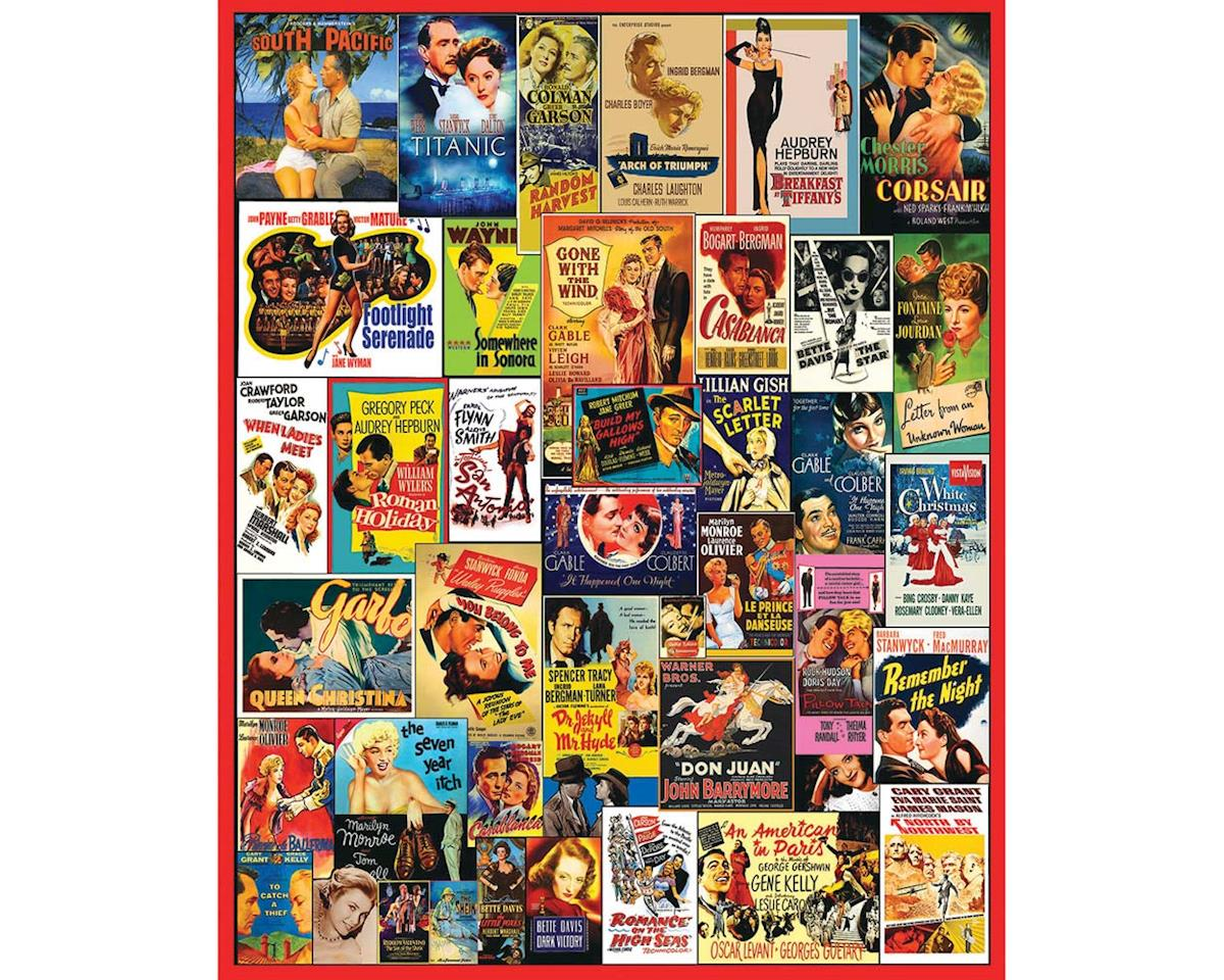 Movie Posters 1000Pcs by White Mountain Puzzles