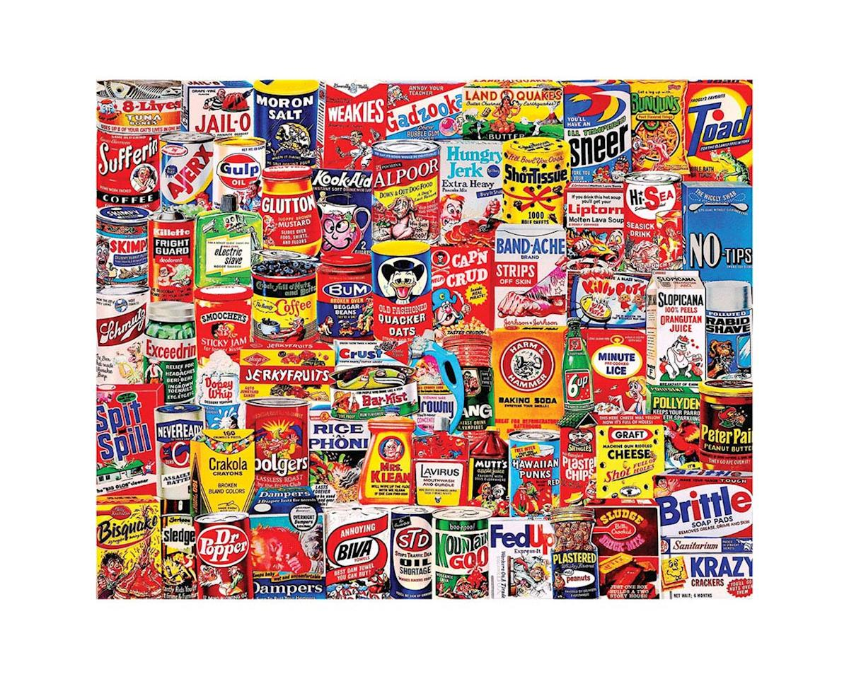 1065PZ Wacky Packs 1000pcs by White Mountain Puzzles