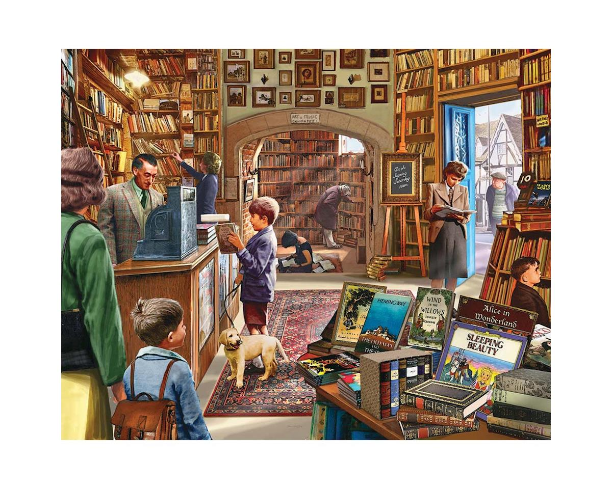 White Mountain Puzzles 1082PZ Old Book Shop 1000pcs