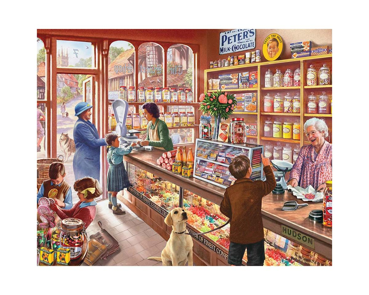 White Mountain Puzzles 1083PZ The Old Candy Store 1000pcs