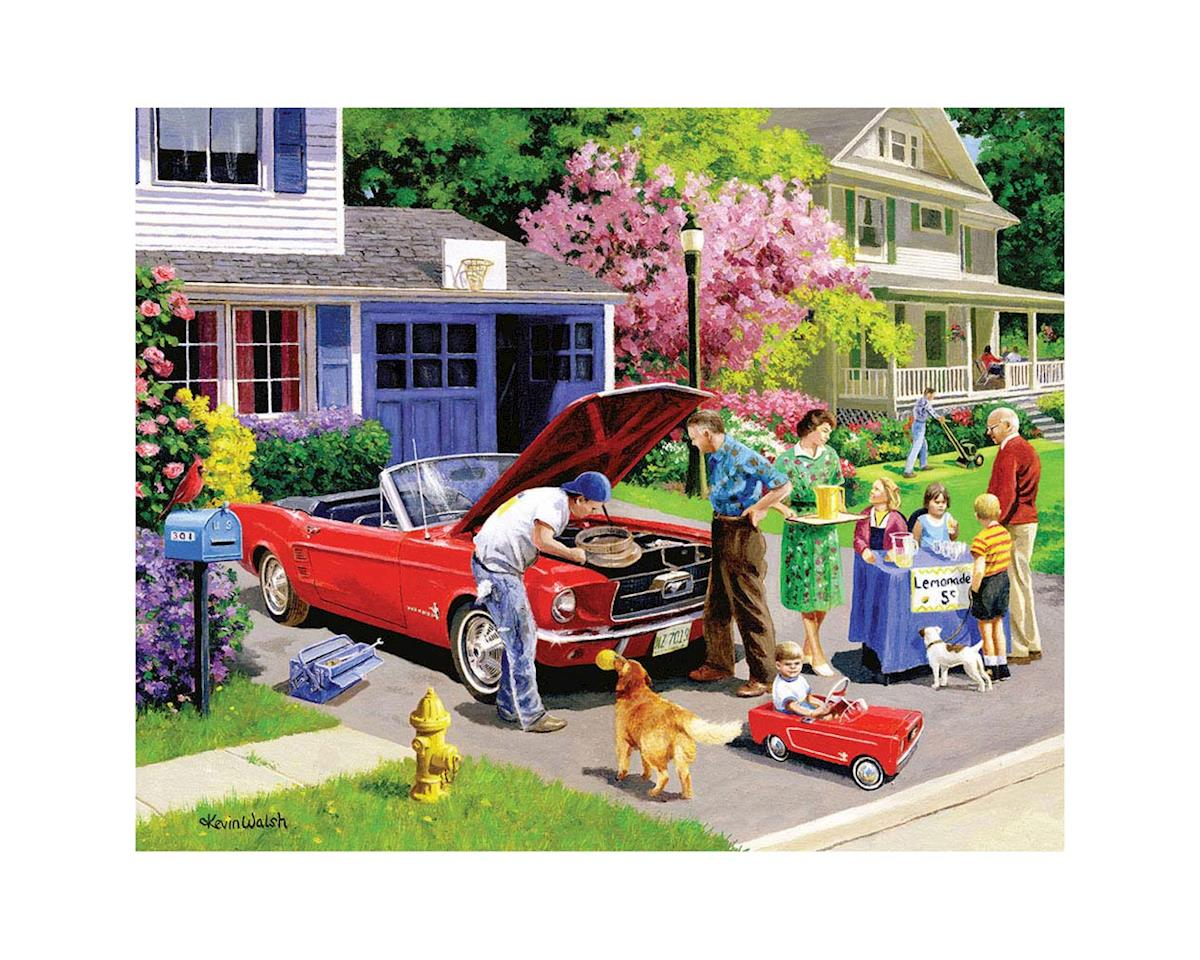 White Mountain Puzzles 1086PZ Ready For A Drive 1000pcs