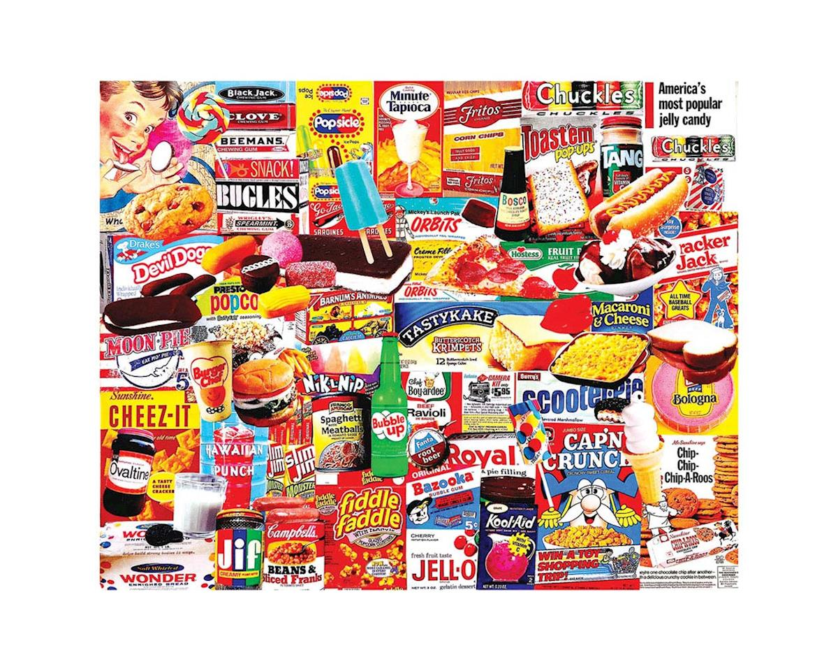 White Mountain Puzzles 1110PZ Things I Ate as a Kid 1000pcs