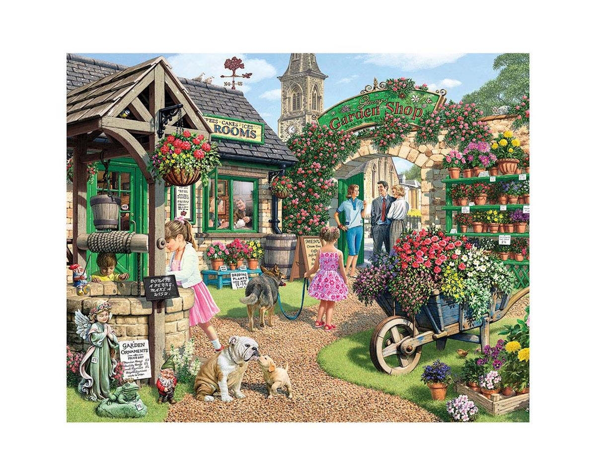 White Mountain Puzzles 1151PZ The Garden Shop 1000pcs