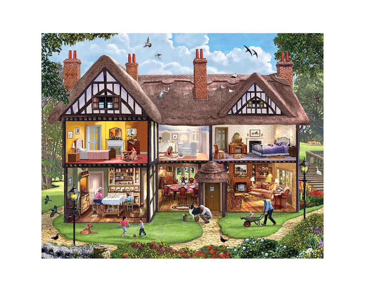 White Mountain Puzzles 1196PZ Summer House 1000pcs
