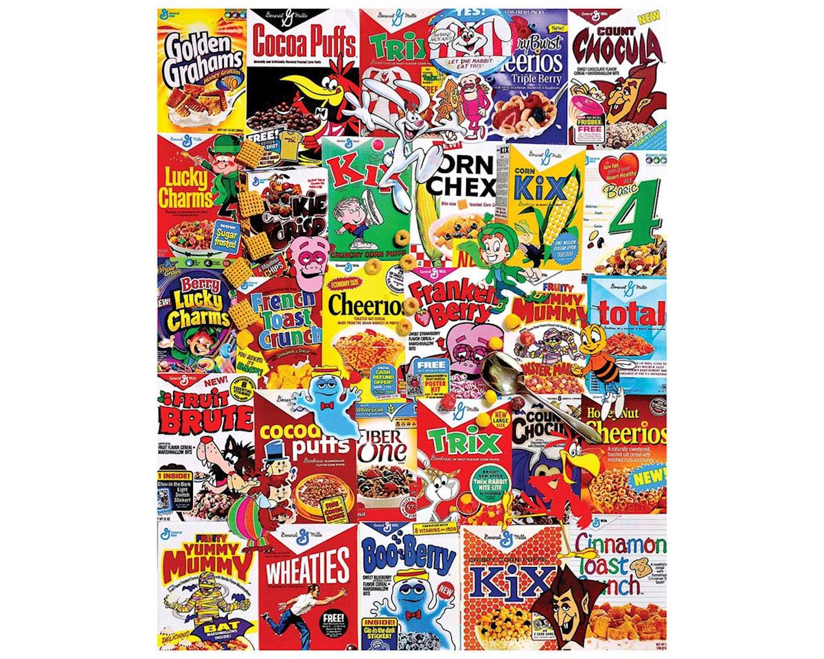 White Mountain Puzzles 1261PZ Cereal Boxes 1000pcs