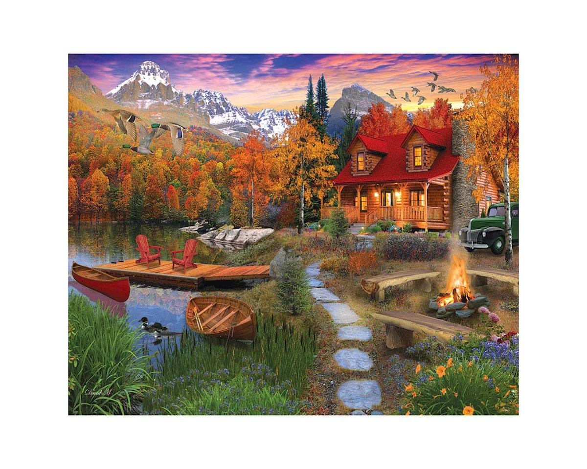 White Mountain Puzzles 1269PZ Cozy Cabin 1000pcs