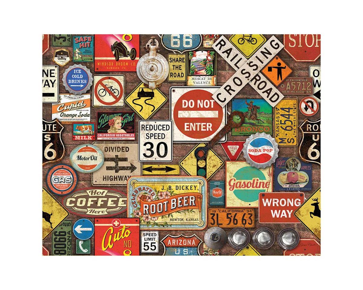 White Mountain Puzzles 1270PZ Road Trip 1000pcs