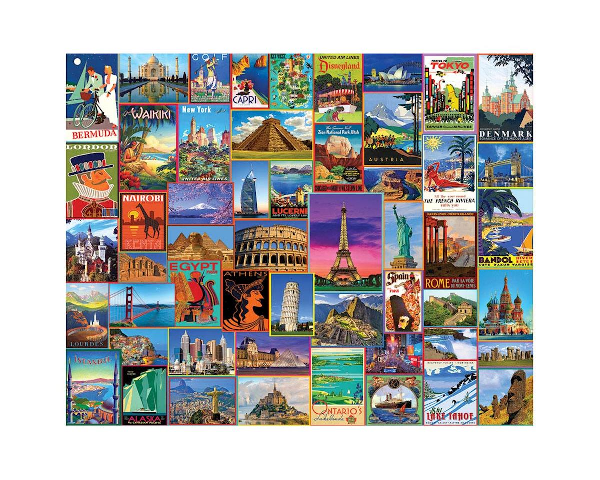 1272PZ Best Places in the World 1000pcs by White Mountain Puzzles