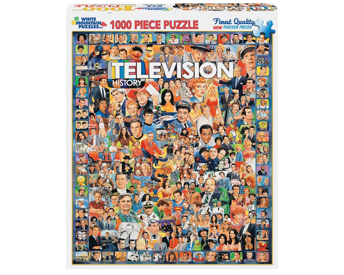White Mountain Puzzles 270PZ Television History 1000pcs
