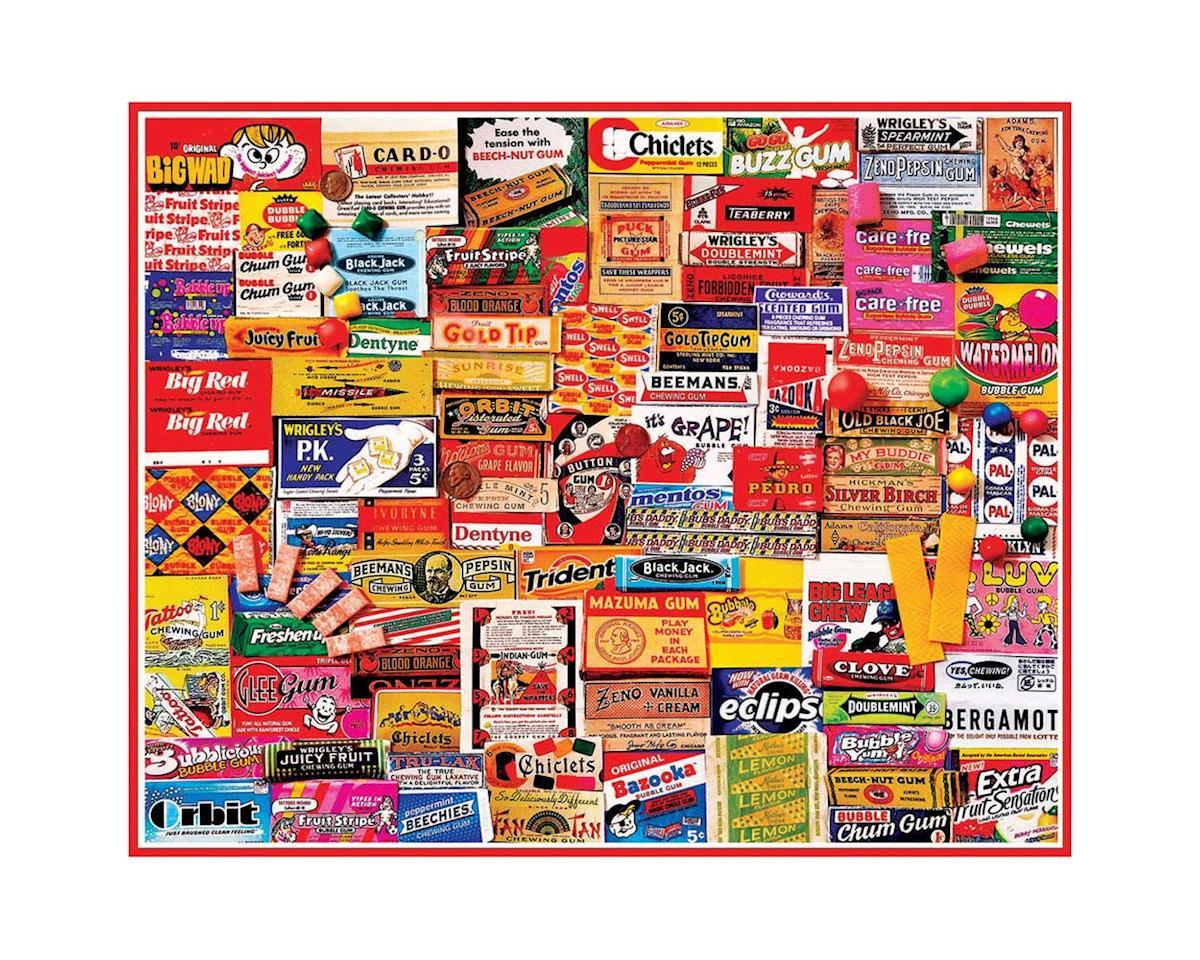 White Mountain Puzzles 885PZ Gum Wrappers 1000pcs
