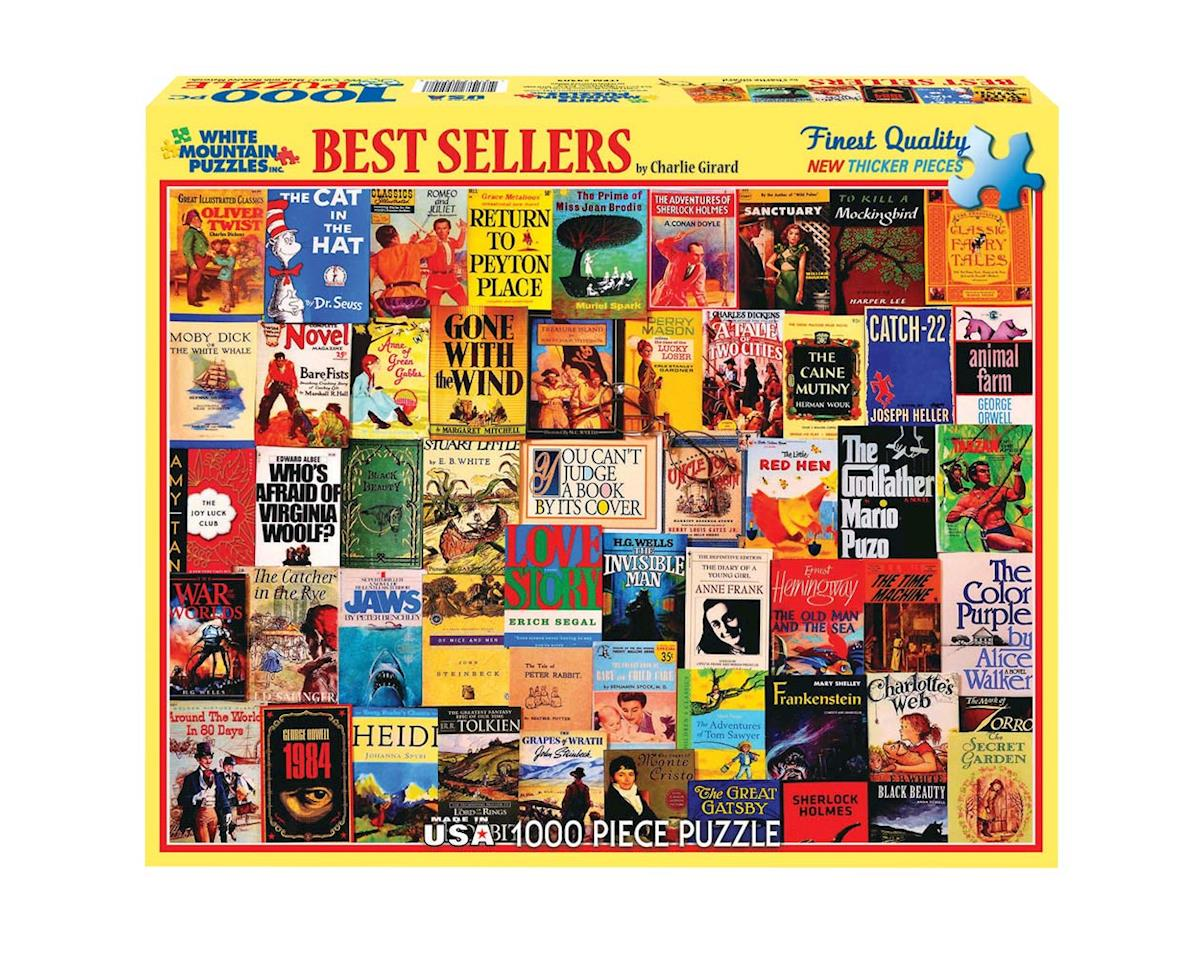 White Mountain Puzzles 930PZ Best Sellers 1000pcs