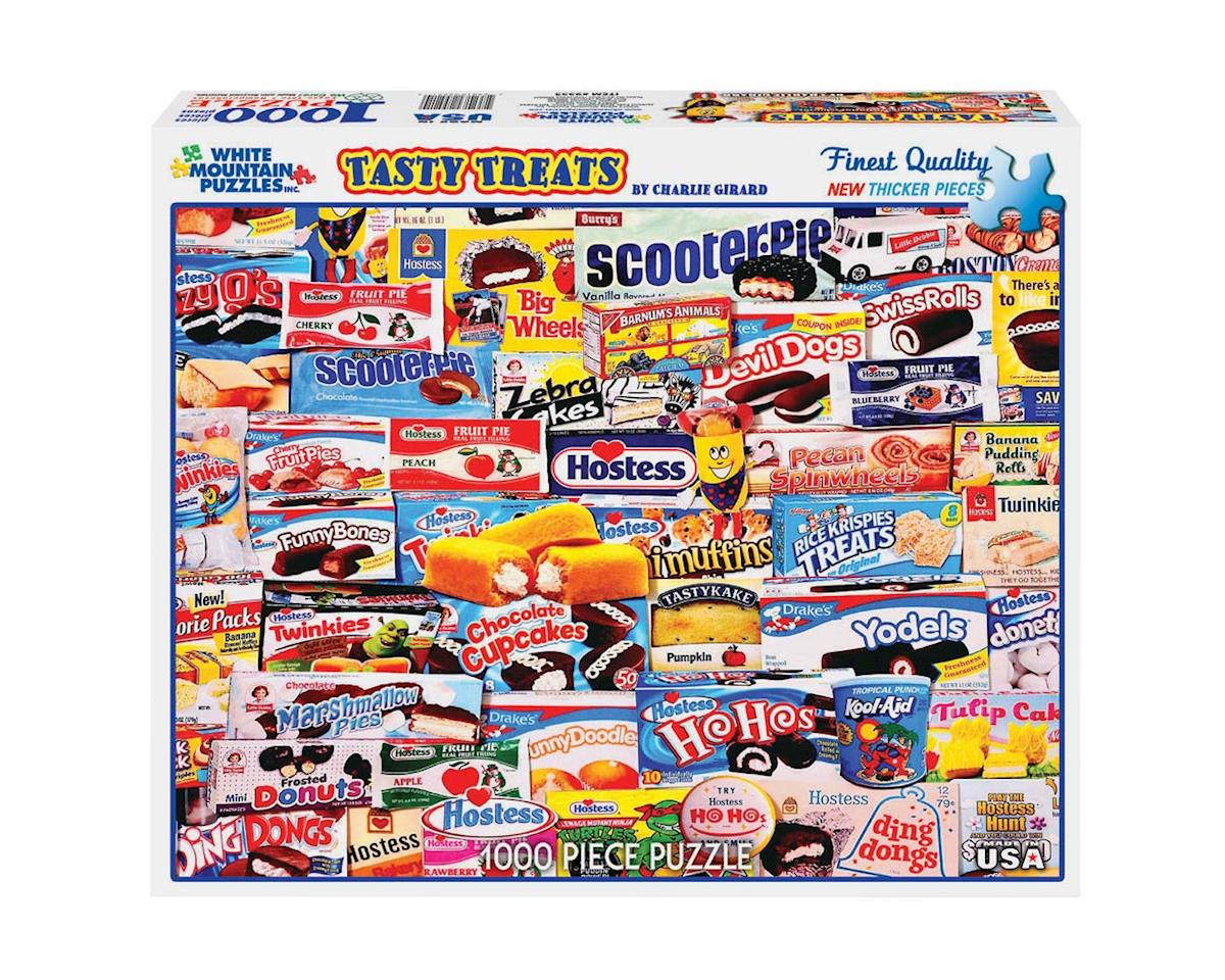 White Mountain Puzzles 955PZ Tasty Treats 1000pcs