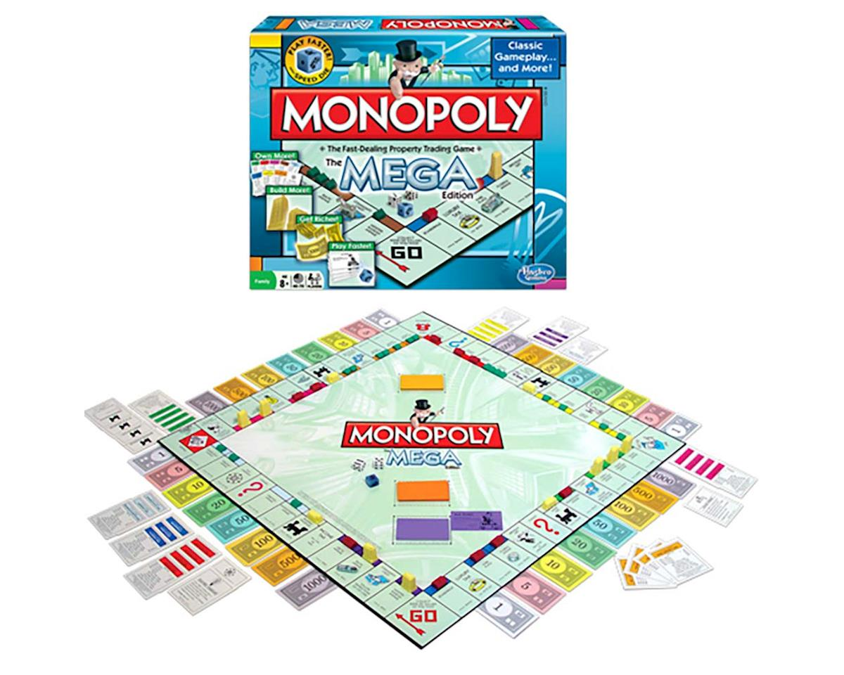 Winning Moves 1104 Monopoly The Mega Edition