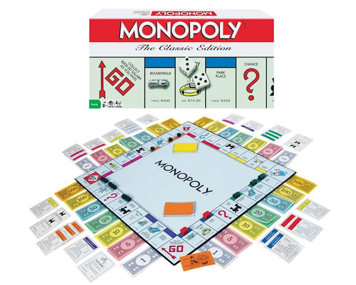 Winning Moves  Monopoly The Classic Edition