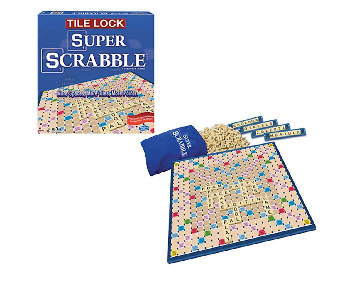 Winning Moves 1159 Tile Lock Super Scrabble