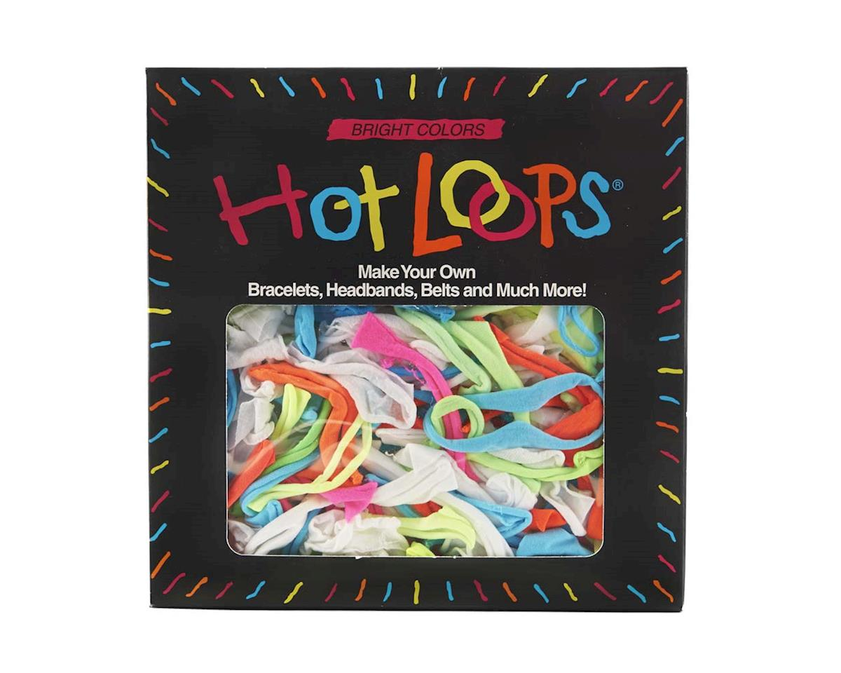 Wool Novelty Hot Loops, Over 100 Colored Loops (Bx)