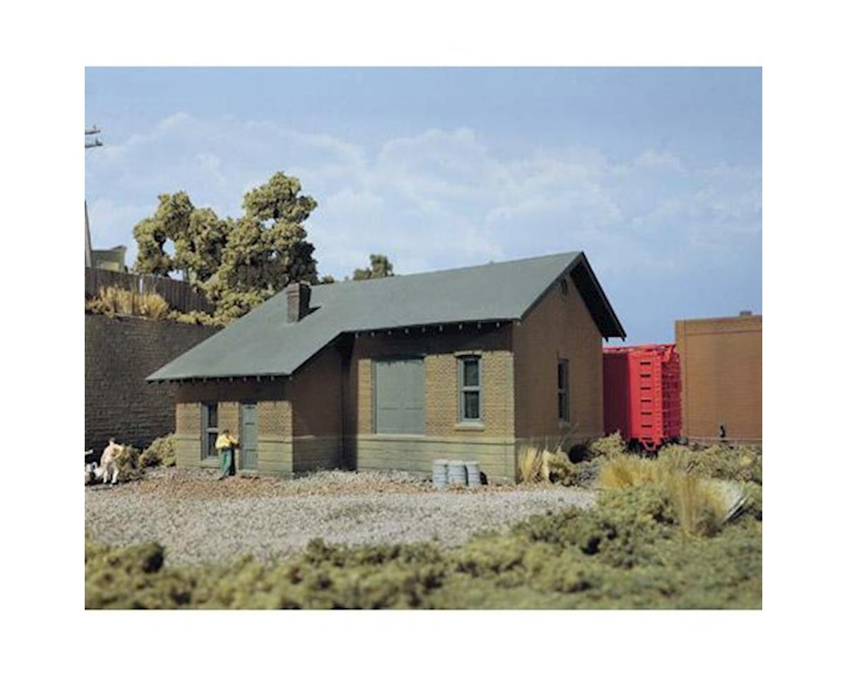HO KIT DPM Freight Depot by Woodland Scenics