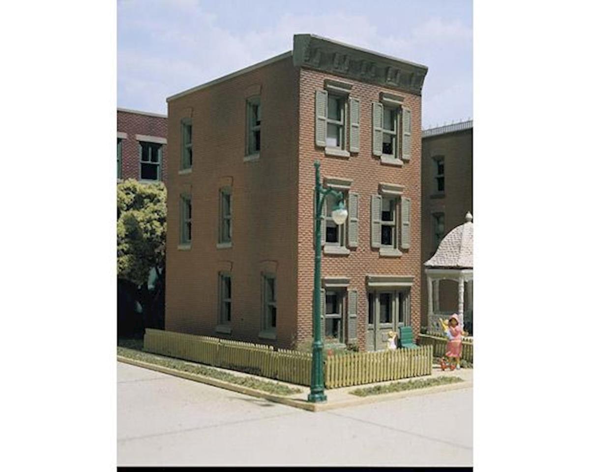 HO KIT DPM Townhouse #3 by Woodland Scenics