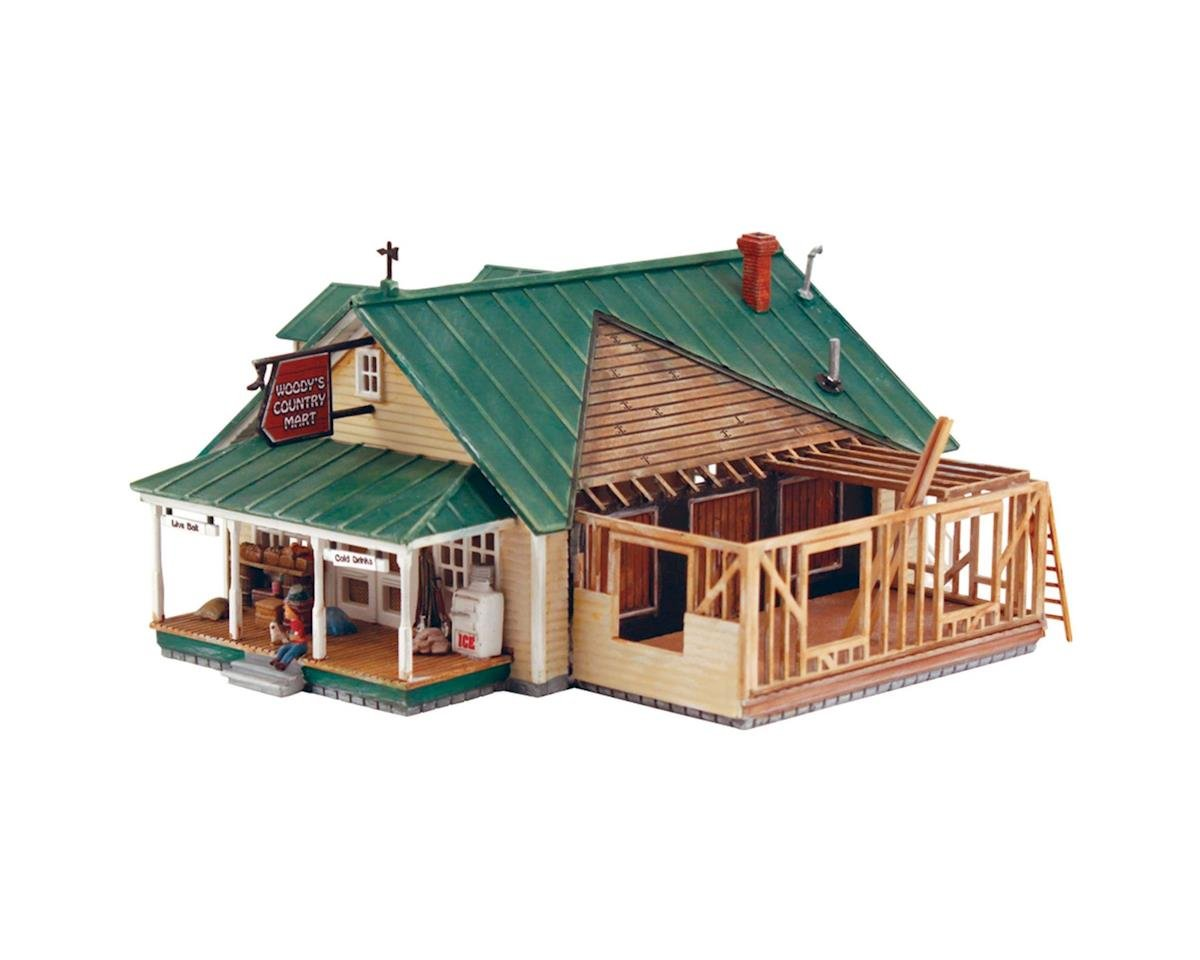 Woodland Scenics HO KIT DPM Woody's Country Store