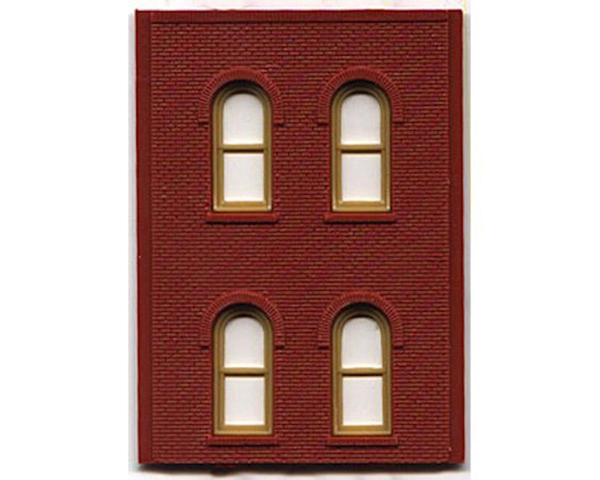 Woodland Scenics HO DPM 2 Story/4 Arch Window (4)