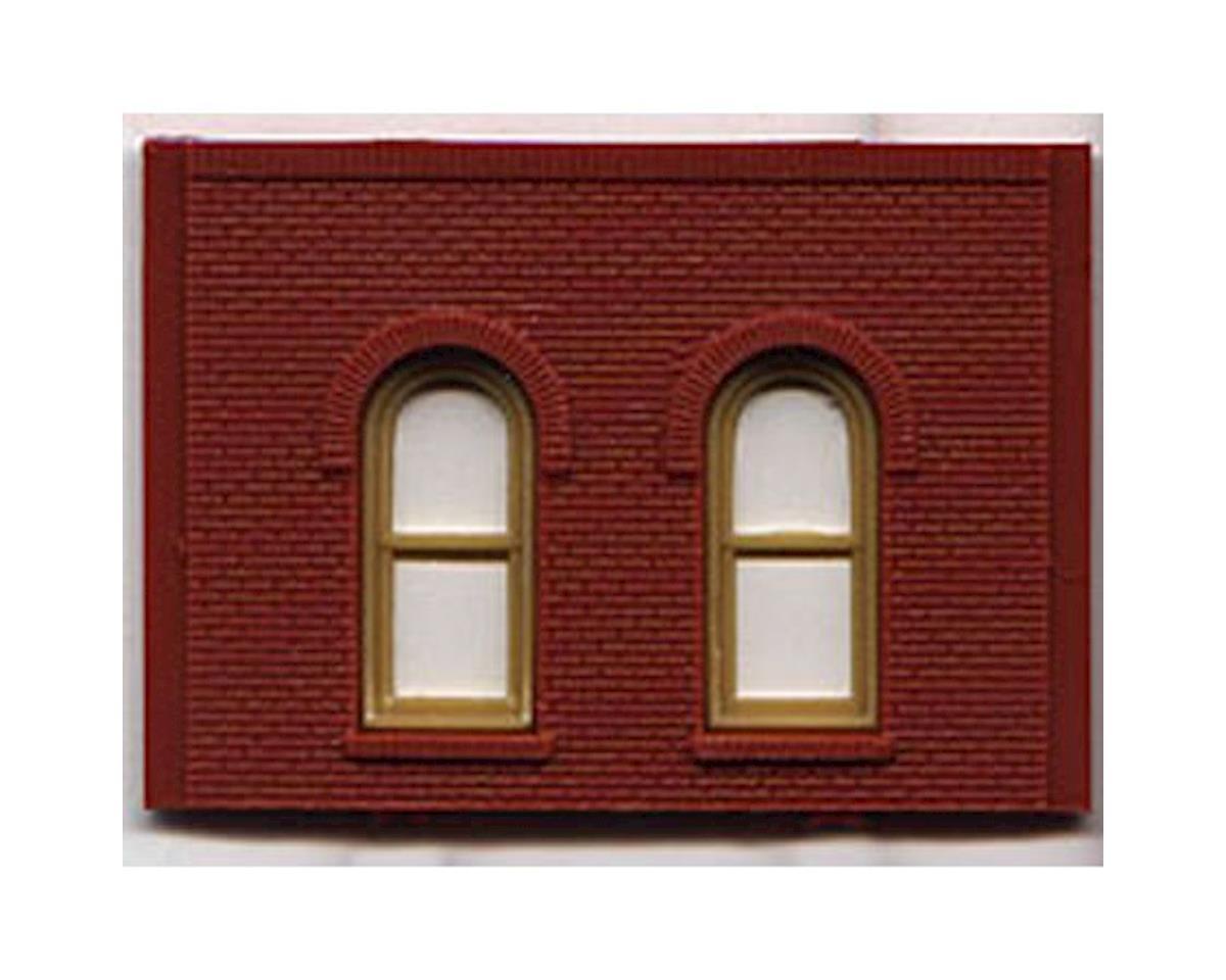 Woodland Scenics HO DPM 1 Story Arch Window Wall (4)